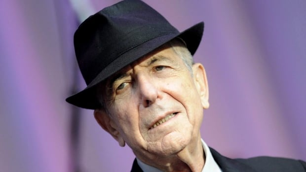 Singer Leonard Cohen, seen performing in 2010, has died at the age of 82.