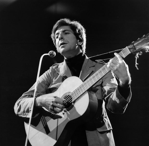 Leonard Cohen 1966