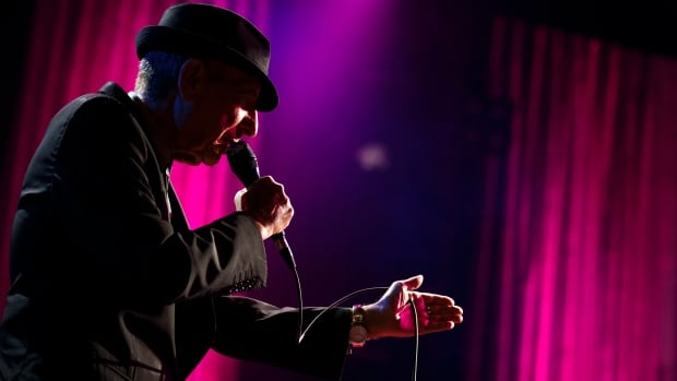 Canadian singer-songwriter Leonard Cohen performs during the first night of the 47th Montreux Jazz Festival on July 4, 2013.  His death has prompted an outpouring from fans.