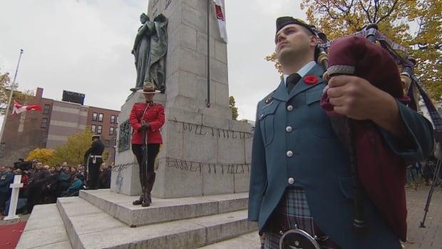 Halifax Remembrance Day ceremony - Nov. 11, 2016