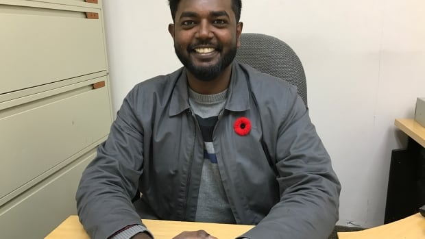 Vathanan Jegatheesan commemorated Remembrance Day this year by wearing the poppy close to his heart and participating in a moment of silence to remember the 117,000 Canadians who gave up their lives for their country.