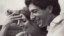 Leonard Cohen and Judy Collins