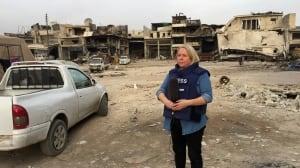 Margaret Evans in Aleppo