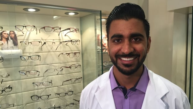 In 1994, Tarek Bin Yameen and his family found themselves internally displaced refugees when the civil work broke out in Yemen. Today he's giving back by with a series of free vision clinics for Syrian refugees whose experience he says he can relate to firsthand.