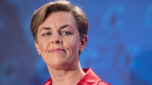 Conservative leadership candidate Kellie Leitch speaks during a November Conservative leadership debate. Columnist Steven Zhou says politicians like Leitch must be held accountable for the effects of populist rhetoric.