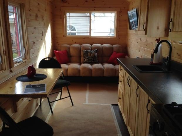 Tiny Home-living room