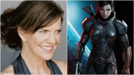 Jennifer Hale & Commander Shepard