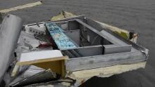 Container debris