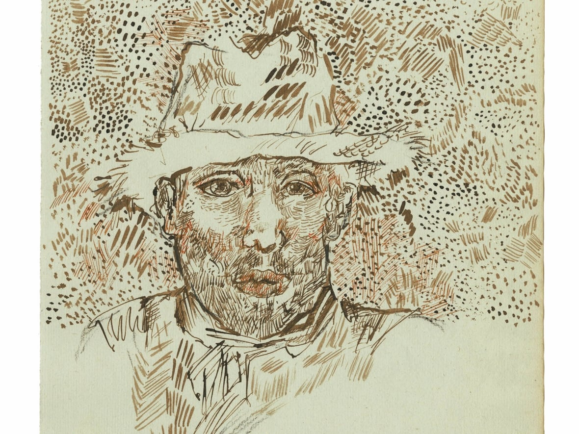 Van Gogh Museum Disputes Newly Discovered Sketchbook Cbc News