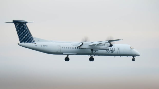 A Porter airlines flight heading for Toronto nearly collided with a flying object that may have been a drone on Monday morning, the Transportation Safety Board says.