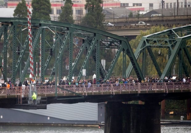 Trump Protests Oregon