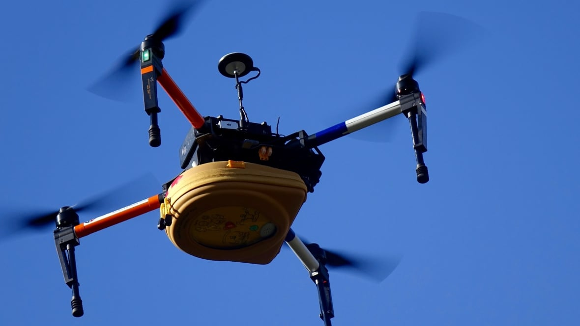 First responders and private firms will test flying drones out of sight   CBC