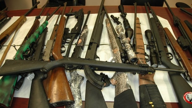RCMP found numerous firearms after conducting a search warrant in Camperville, Man.