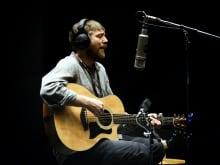 Joel Plaskett performing live at the q studios in Toronto, Ont.