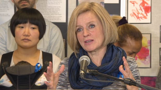 Premier Rachel Notley announced a $25-a-day daycare pilot project in Edmonton Tuesday.