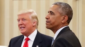 How history could make strange bedfellows of Obama and Trump: Keith Boag