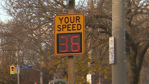 City staffers say research has shown drivers will slow down when they see their speed displayed on radar signs.
