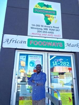 African Foodways Market in Winnipeg
