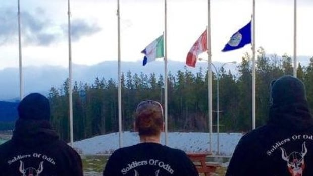 An image from the Soldiers of Odin Yukon's Facebook page.