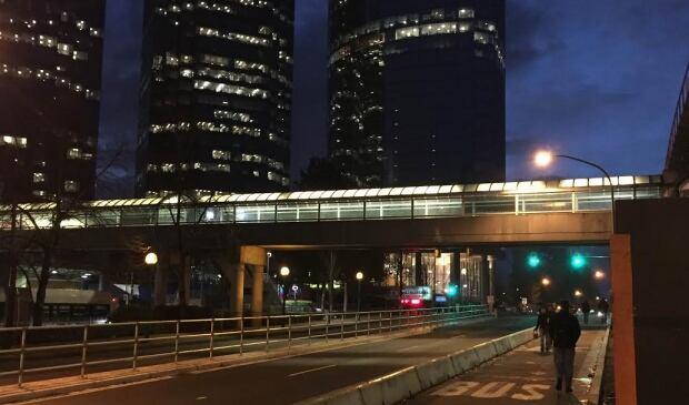 Metrotown Overhead walkway