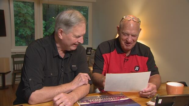 """Bob McKeown and Jerry """"Soupy"""" Campbell"""