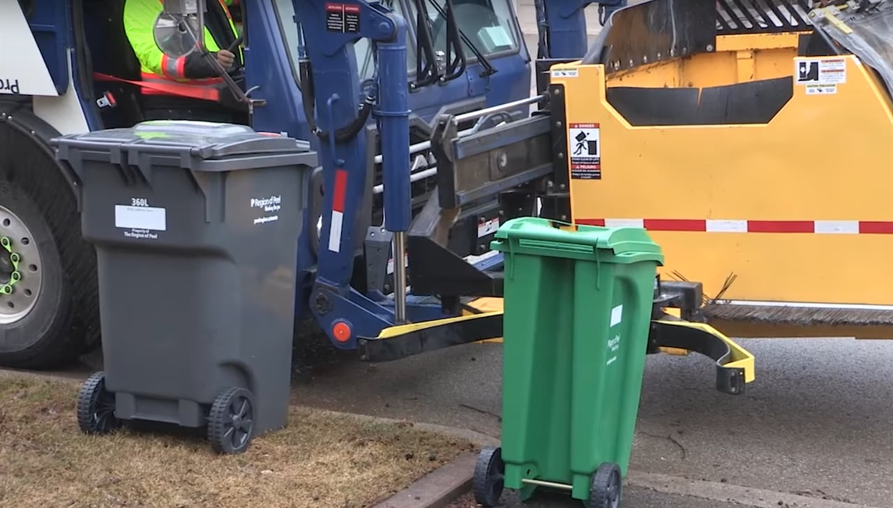 Garbage Collectors In Peel Region Could Strike At Midnight Cbc News