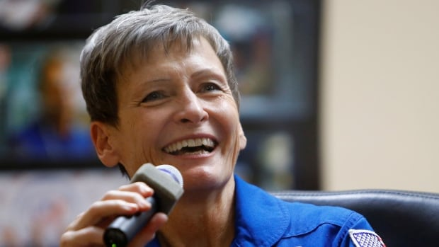 Peggy Whitson will celebrate her 57th birthday aboard the International Space Station in February making her the oldest woman in space.