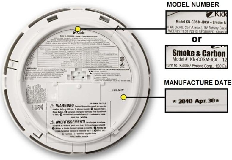 1 5 Million Kidde Nighthawk Smoke Detector Carbon Monoxide Alarms