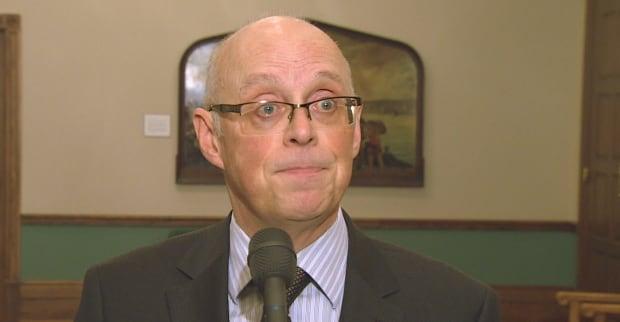 Health Minister John Haggie