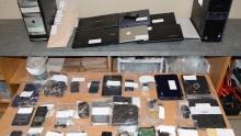Project Links Seized Electronics