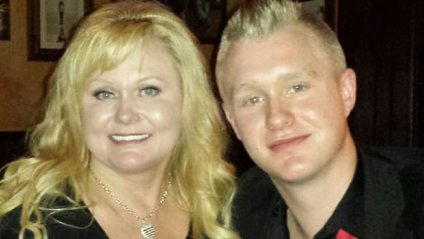 Michelle Jansen planned to open the centre as a tribute to her son Brandon, pictured here, who died of a fentanyl overdose in 2016.