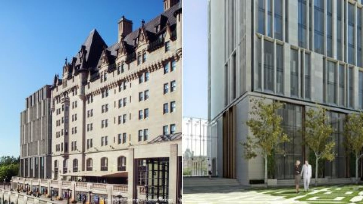 Updated ch teau laurier design looks awfully familiar for Hotel design ottawa