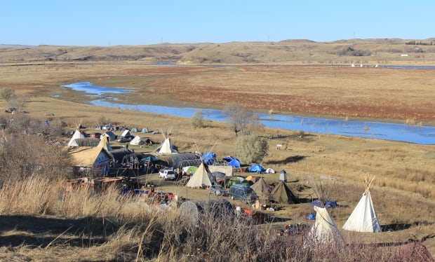 Woman injured in oil pipeline protest improving