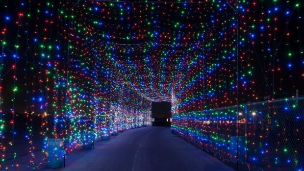 Kitchener Light Tunnel Christmas