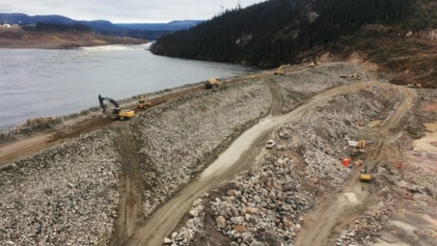 The Muskrat Falls cofferdam is a temporary barrier, and Nalcor says seepage is common.