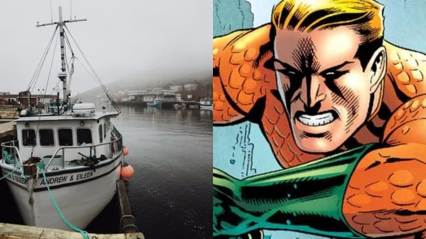 Could Aquaman be making an appearance in Petty Harbour?