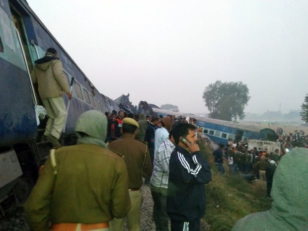 INDIA TRAIN ACCIDENT