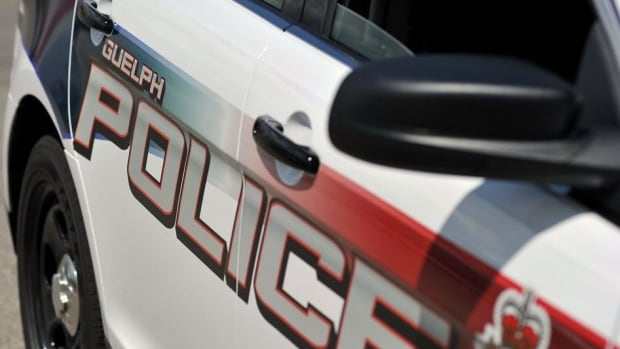 Guelph Police say a taillight on a cruiser was broken when an intoxicated man cycled into the vehicle while it was parked on Waterloo Avenue.
