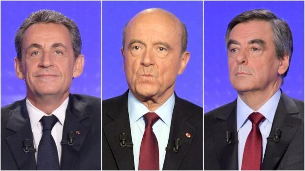 Nicolas Sarkozy, Alain Juppe, Francois Fillon