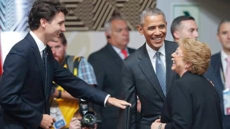 APTOPIX Obama Peru APEC Summit