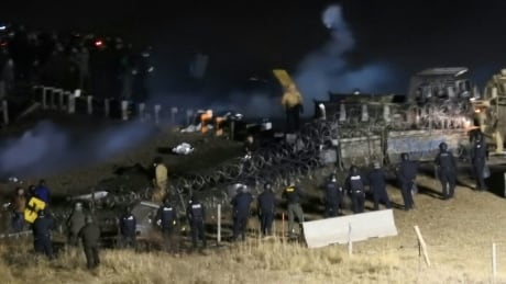Oil Pipeline Protest
