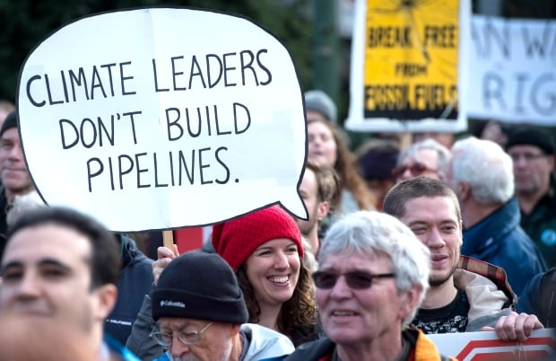 Kinder Morgan Trans Mountain Pipeline expansion protests