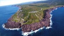 Cape Spear aerial