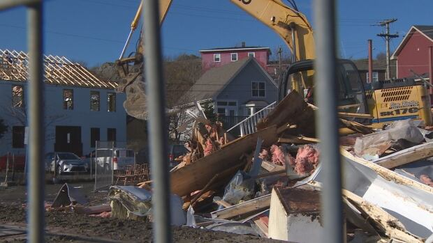 Quidi Vidi Flake House demolition in St. John's