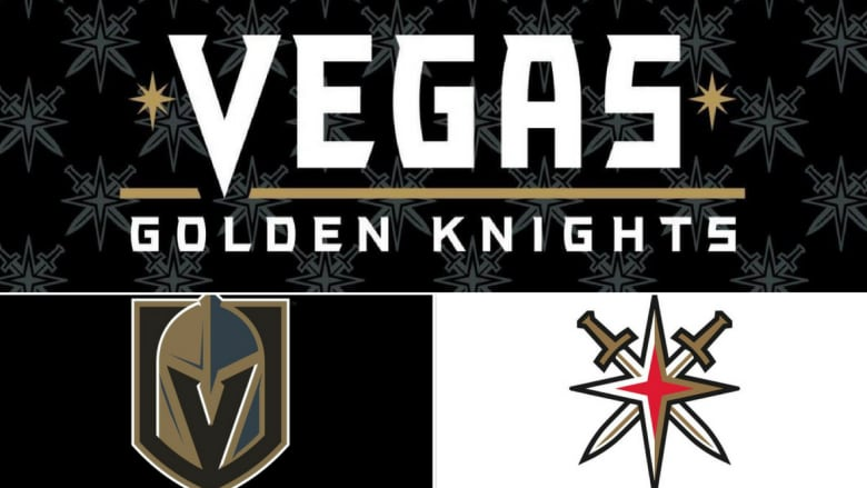 The Vegas Golden Knights Unveiled Their Logos On Nov 22 Choosing Steel Grey Gold Red And Black As Official Colours Twitter