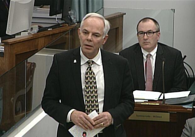 Peter Bevan-Baker in the P.E.I. Legislature