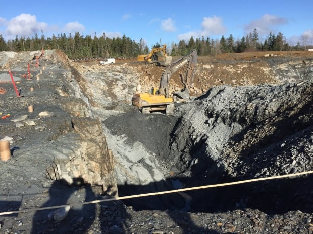 Mine work Moose River Gold Mines