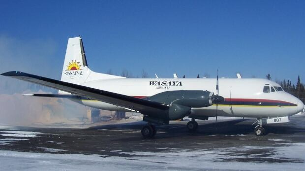 Wasaya Airways is providing the Hawker plane that will be filled with food, and flown to Sandy Lake First Nation in northwestern Ontario.