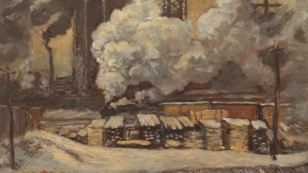The 1912 sketch Tracks and Traffic by the Group of Seven's J.E.H. MacDonald sold for $230,000 at Consignor Canadian Fine Art's fall sale in Toronto on Tuesday night.