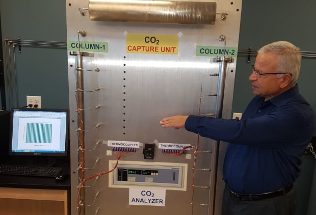 Carbon capture using solids